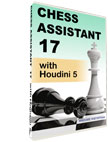 Chess Assistant 17 with Houdini 5 [UPGRADE]