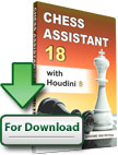 Chess Assistant 18 with Houdini 6 Upgrade [Download]