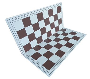 Chessboard brown foldable